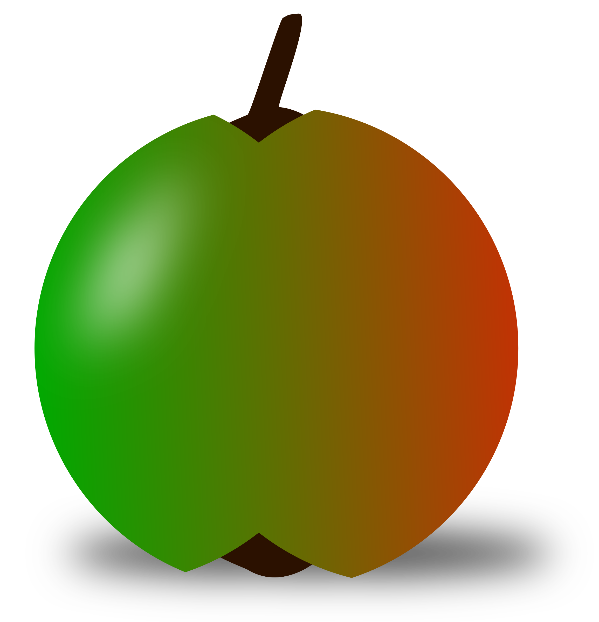 Apple rotting clipart image transparent library red and green apple Icons PNG - Free PNG and Icons Downloads image transparent library