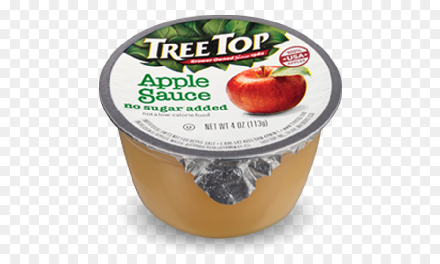Apple sauce cup clipart png