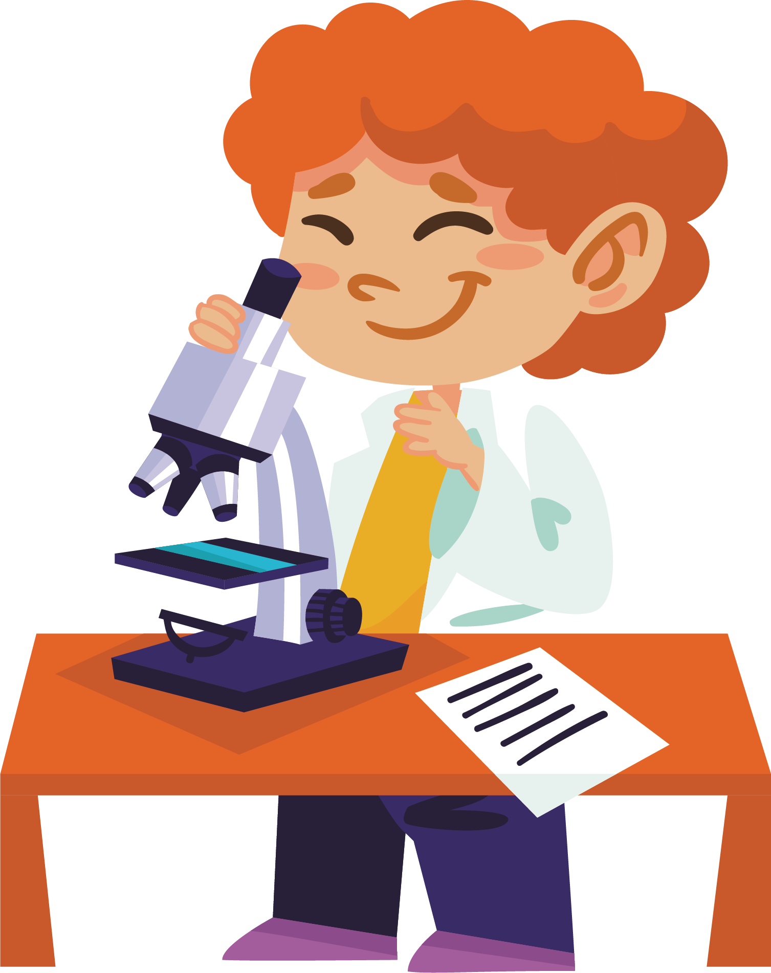 Apple science experiment clipart clip art free Experiment Science Illustration - Scientific experiment scientist ... clip art free