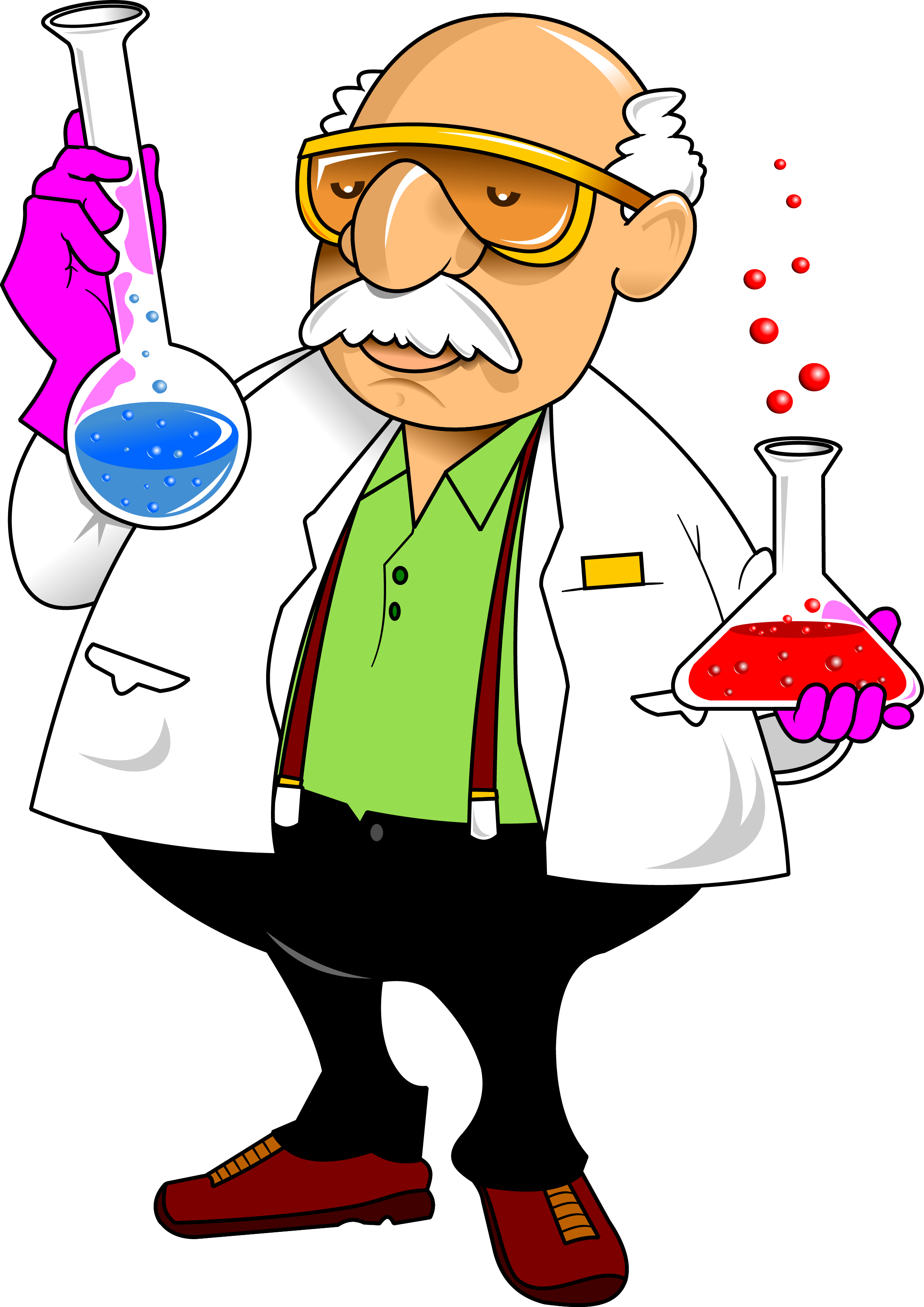 Apple science experiment clipart jpg library download Laboratory Chemistry Cartoon Science - experiment 2288*3236 ... jpg library download