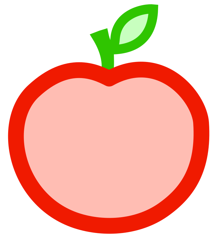 Apple slices clipart image library download Cut Apple Cliparts - Cliparts Zone image library download