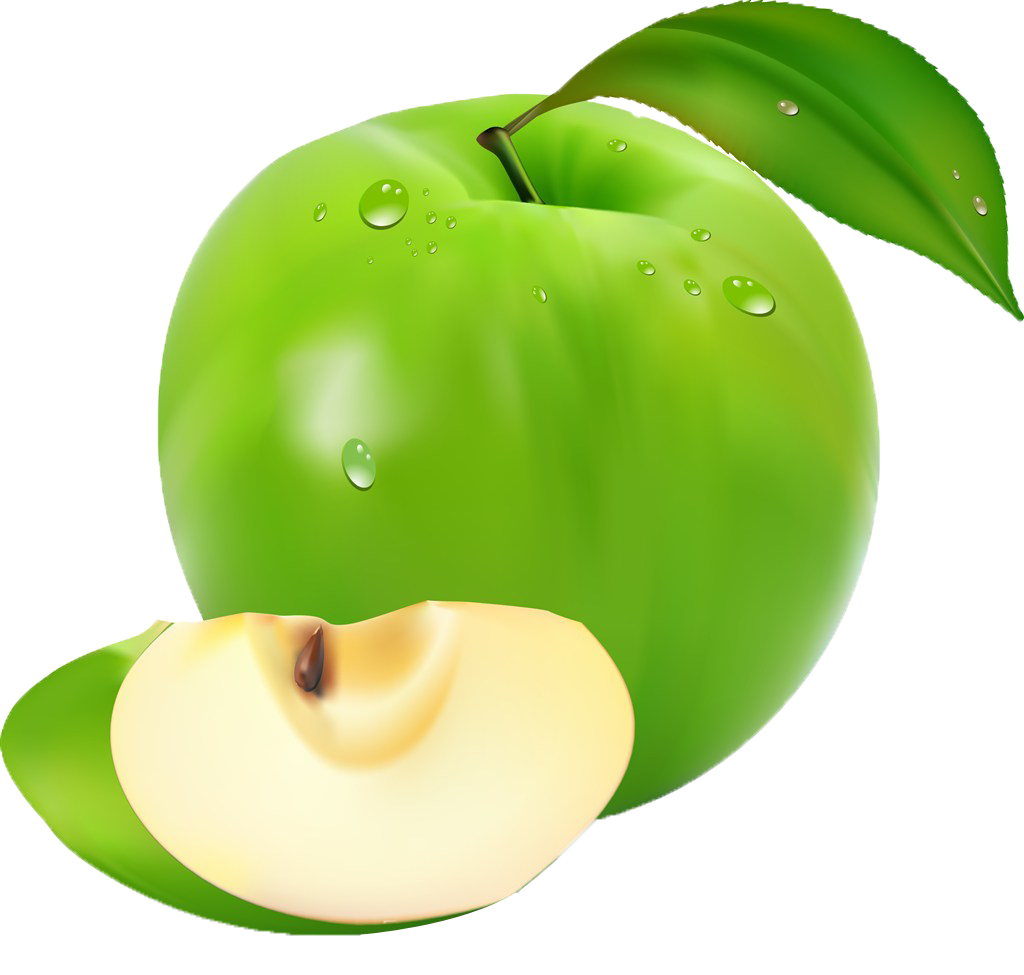 Apple slices clipart png svg free stock Apple Fruit Image file formats Clip art - Spring fresh green fantasy ... svg free stock