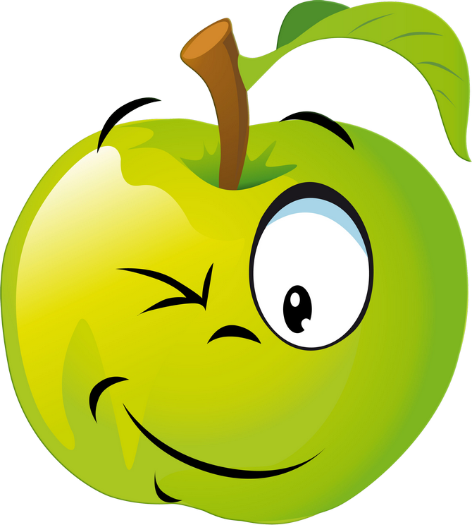 Apple smiley face clipart png royalty free download Funny Fruit 100.png | Pinterest | Emojis, Clip art and Funny fruit png royalty free download