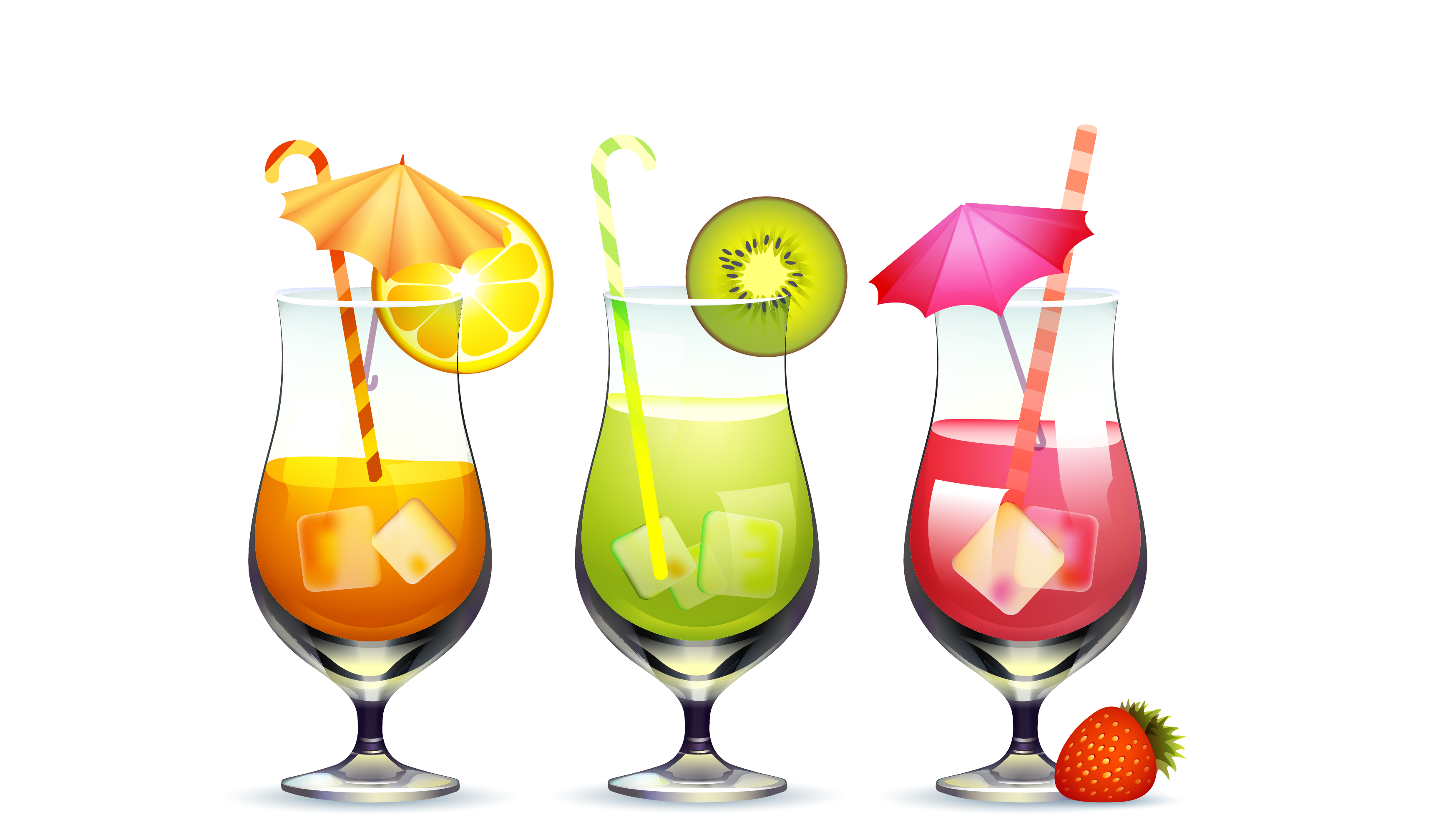 Apple spice clipart mixed drink clipart library library Cocktail Apple juice Drink - Ice fruit cocktail 3491*1953 transprent ... clipart library library