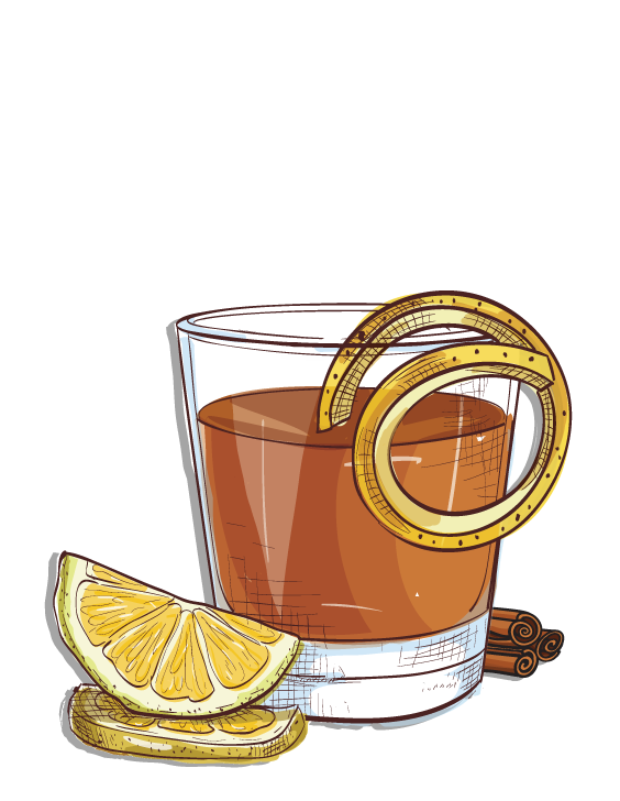 Hot apple cider clipart black and white download Seasonal Cocktails — Espirito XVI Ultra-Premium Small-Batch Cachaça black and white download