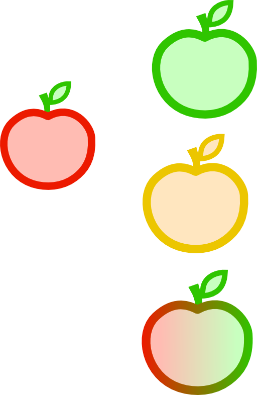 Apple split clipart png royalty free Apple Clipart | i2Clipart - Royalty Free Public Domain Clipart png royalty free