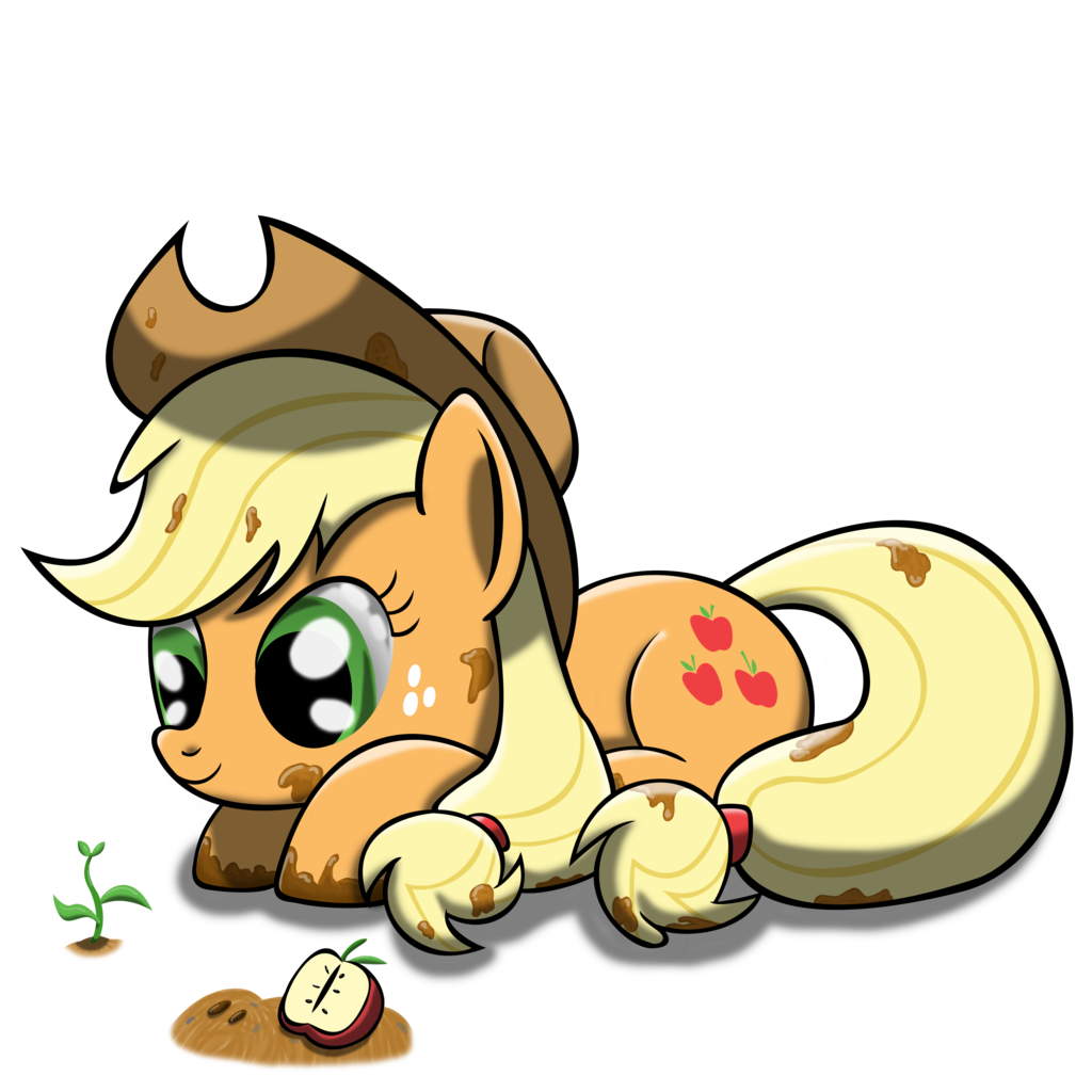 Apple sprout clipart svg black and white stock 591807 - apple, applejack, artist:bigshot232, bloomberg, dirty, mud ... svg black and white stock