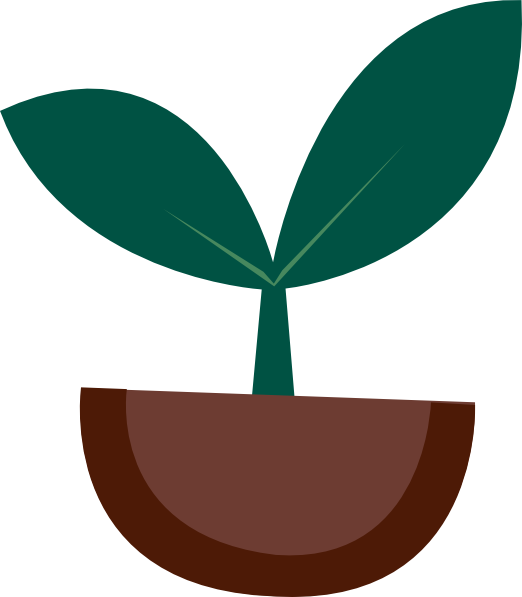 Apple sprout clipart vector transparent library Plant Sprout Clip Art – Free Cliparts vector transparent library