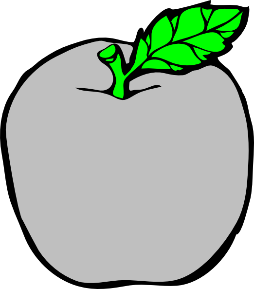 Apple sstem clipart svg library download Silver Apple Clip Art at Clker.com - vector clip art online, royalty ... svg library download