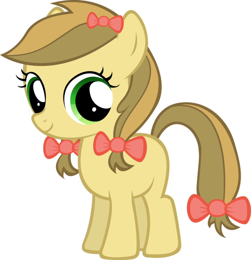 Apple strudel clipart vector black and white library Apple Strudel Filly by MoongazePonies on DeviantArt vector black and white library