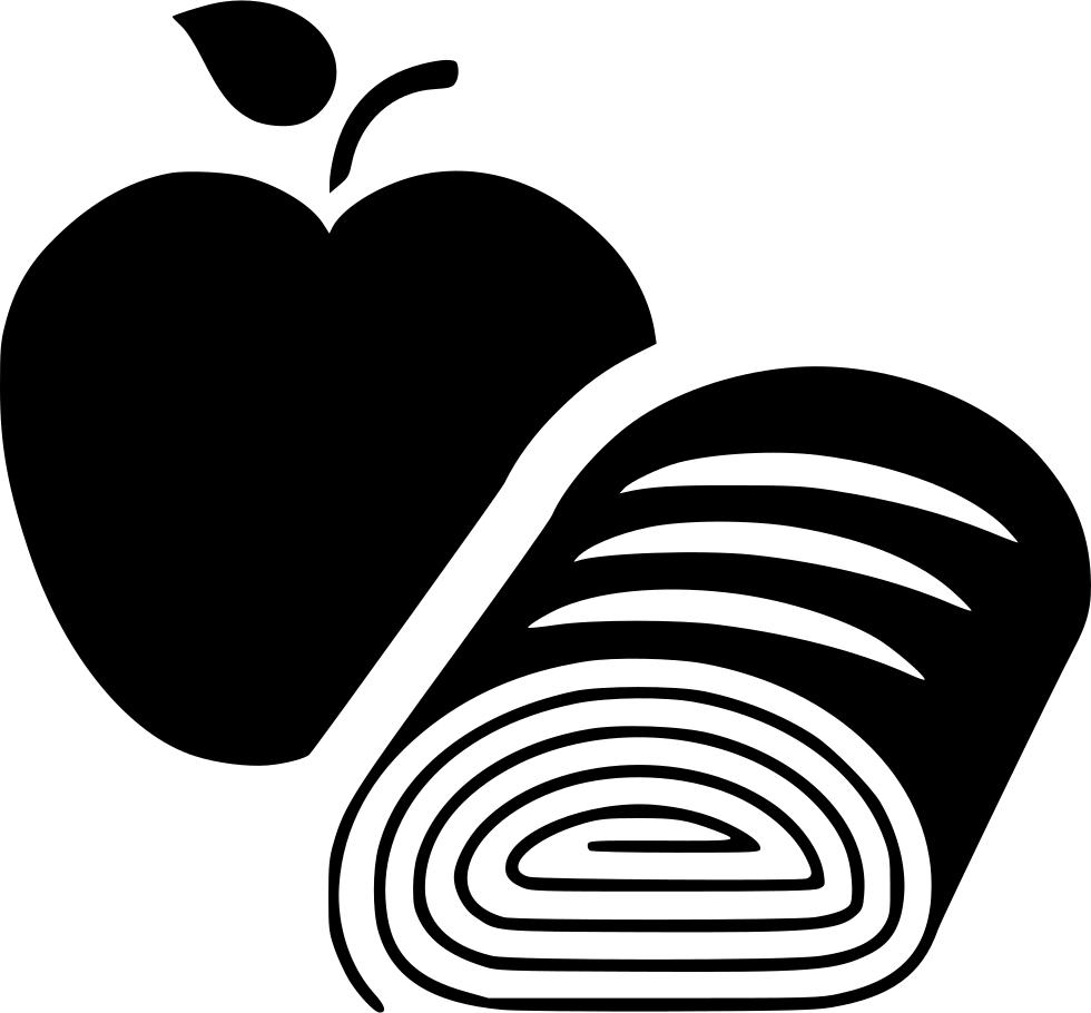Apple strudel clipart clip transparent stock Apple Strudel Svg Png Icon Free Download (#480432) - OnlineWebFonts.COM clip transparent stock