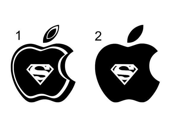 Apple superman clipart banner transparent stock Apple with superman clipart - ClipartFest banner transparent stock