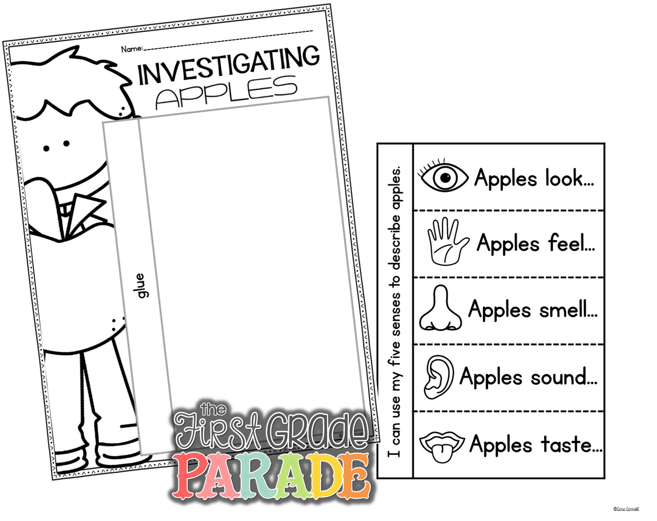 Apple tasting clipart png freeuse library Apples, Apples, EVERYWHERE! - The First Grade Parade png freeuse library