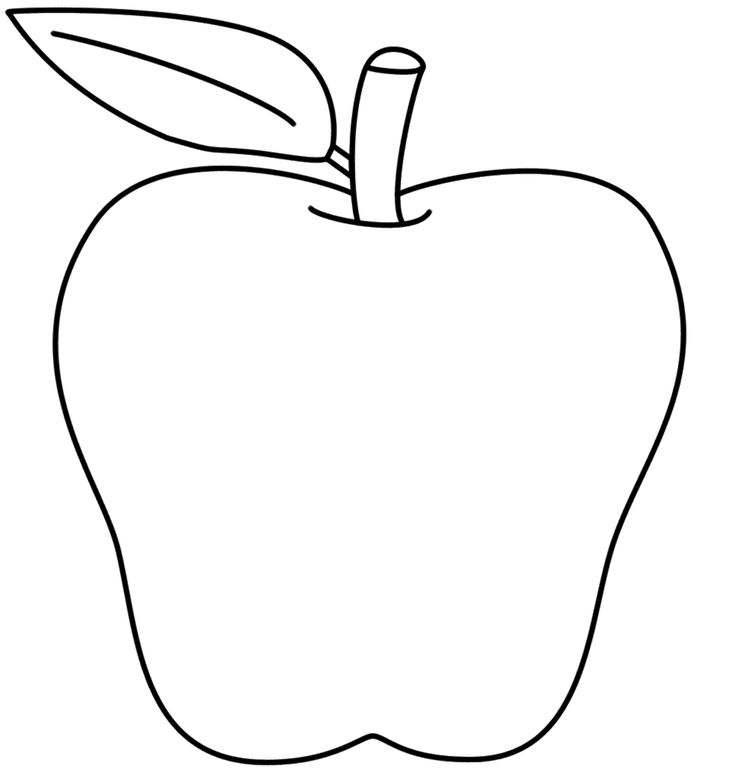 Apple clipart preschool vector royalty free library Apple black and white ideas about apple template on preschool clip ... vector royalty free library