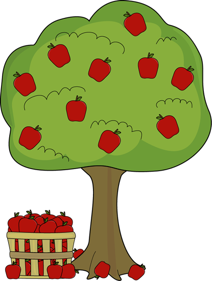 Apple trees with snow clipart clip art freeuse library APPLE TREE * | CLIP ART - TREES - CLIPART | Tree clipart, Apple ... clip art freeuse library