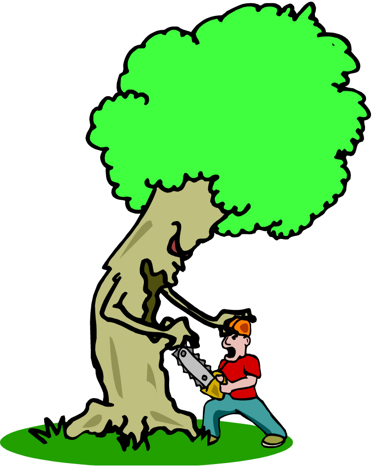 Free Tree- Cutting Cliparts, Download Free Clip Art, Free Clip Art ... jpg library stock