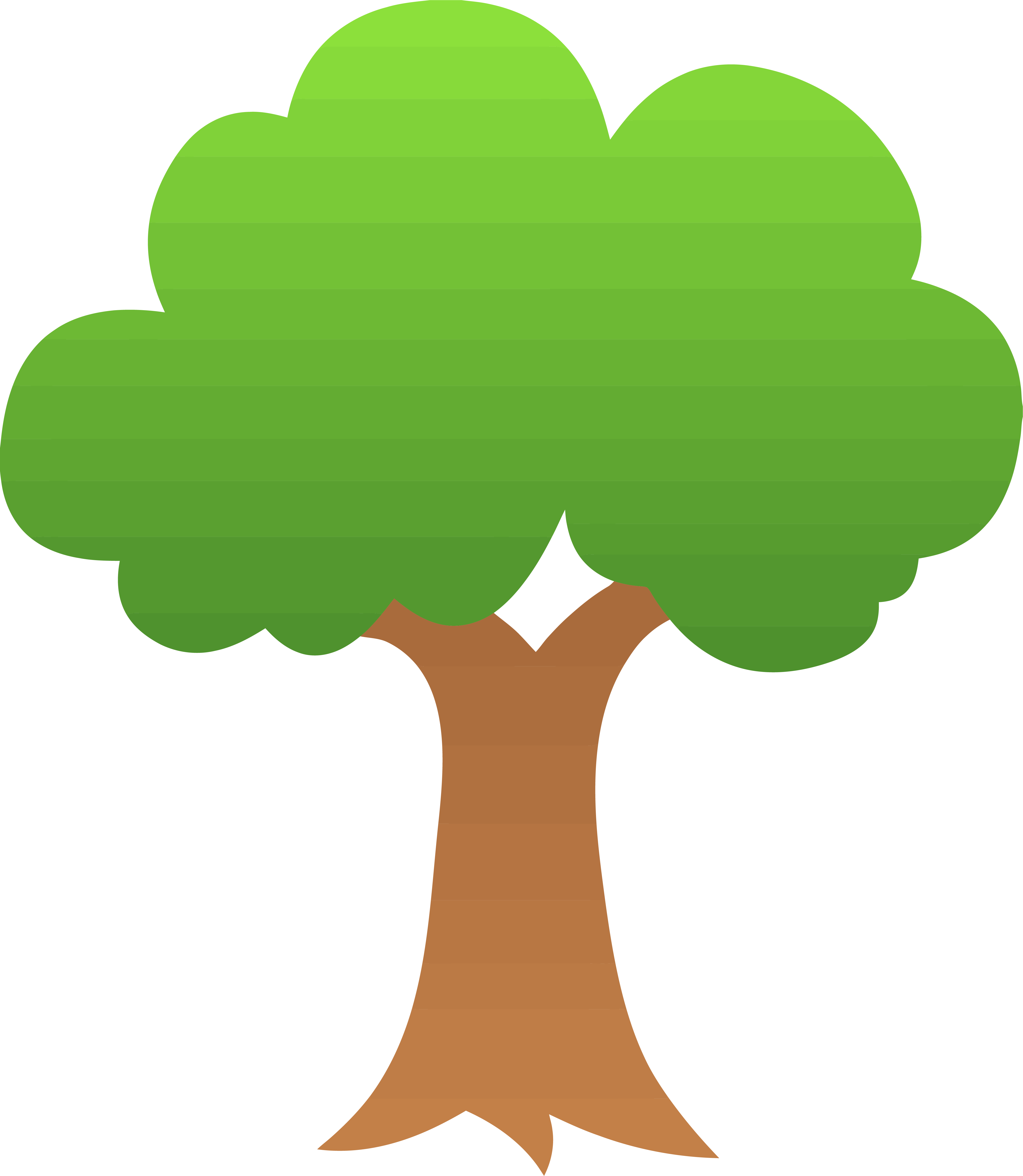 Apple tree clipart picture transparent library Gradient Apple Tree Clipart Png | Clipartly.com picture transparent library