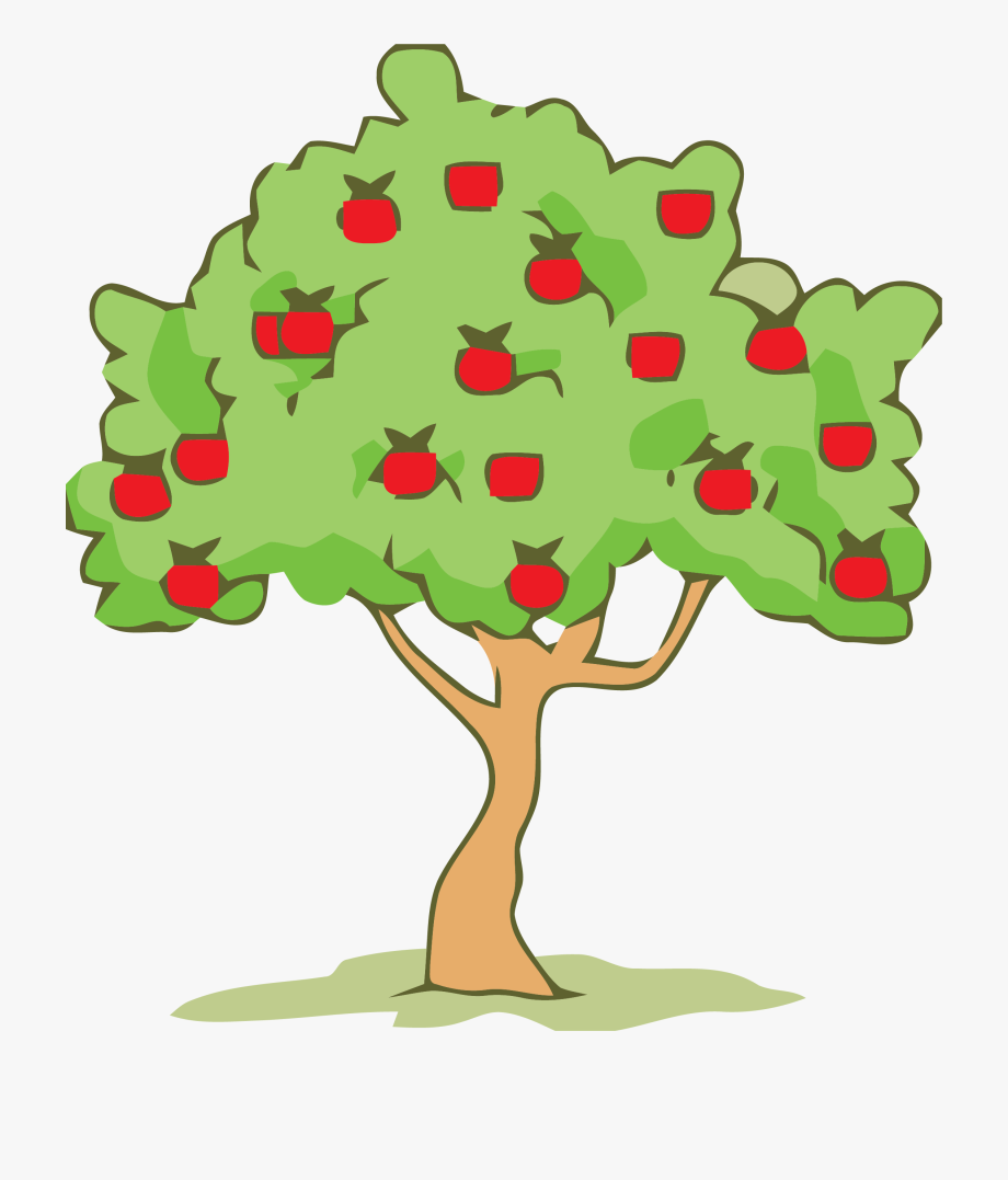 Apple tree clipart image clipart download Green Smoke Color Tree Clipart Png - Gravitational Force Apple Tree ... clipart download