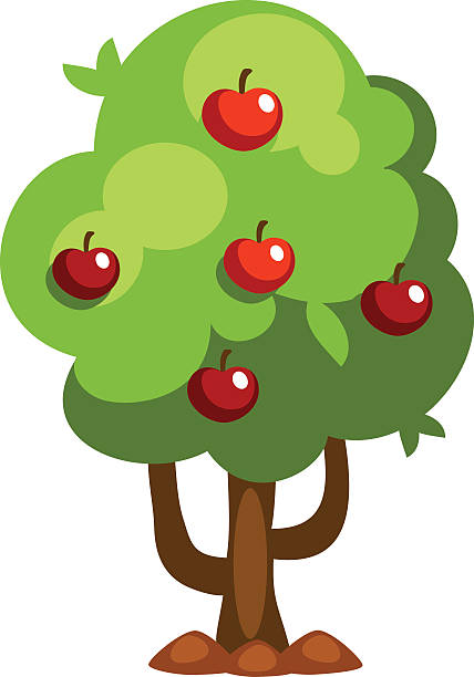 Apple tree clipart image vector download Apple tree clipart 5 » Clipart Station vector download