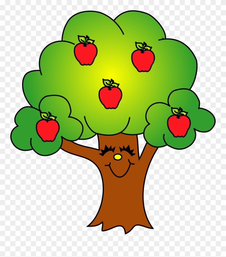 That is a tree clipart graphic transparent stock Trees Image Of Tree Clipart 8 Cool Apple Tree Clip - Apples On A ... graphic transparent stock