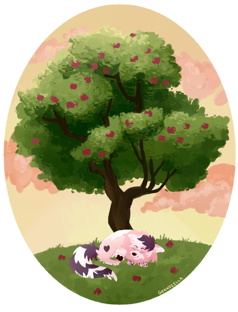 Apple tree digital clipart png free Commission Apple Tree by GEKKOZILLA on DeviantArt png free