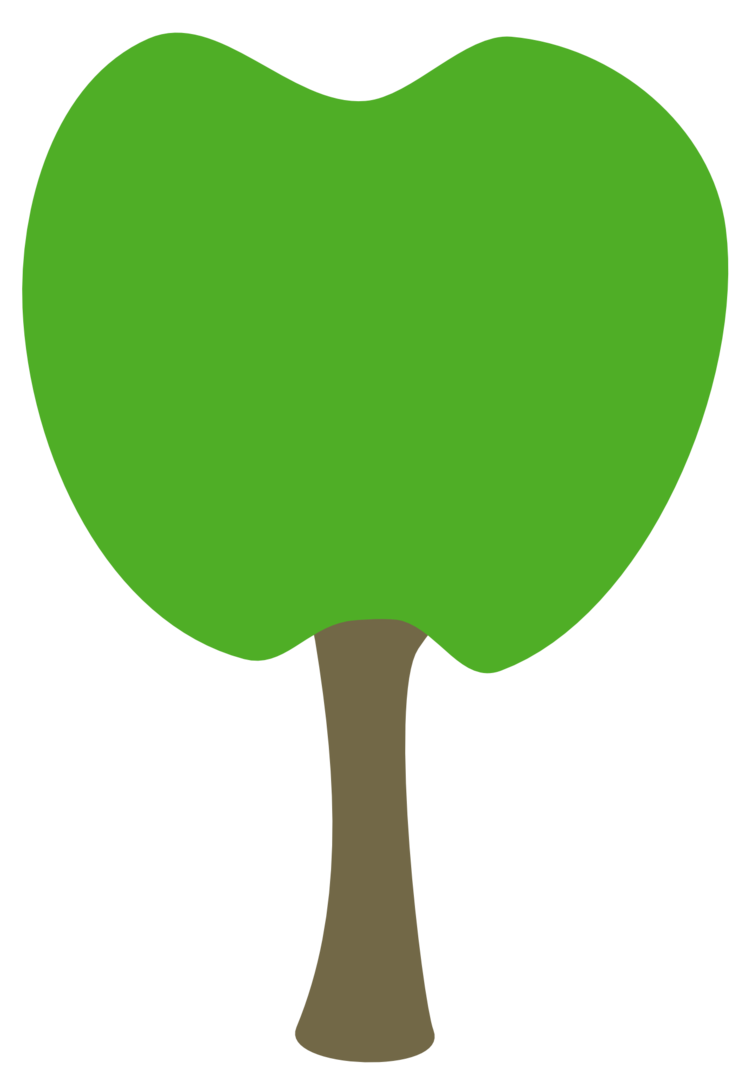 Apple tree drawing clipart image transparent Tree cutie mark request by The-Smiling-Pony on DeviantArt image transparent
