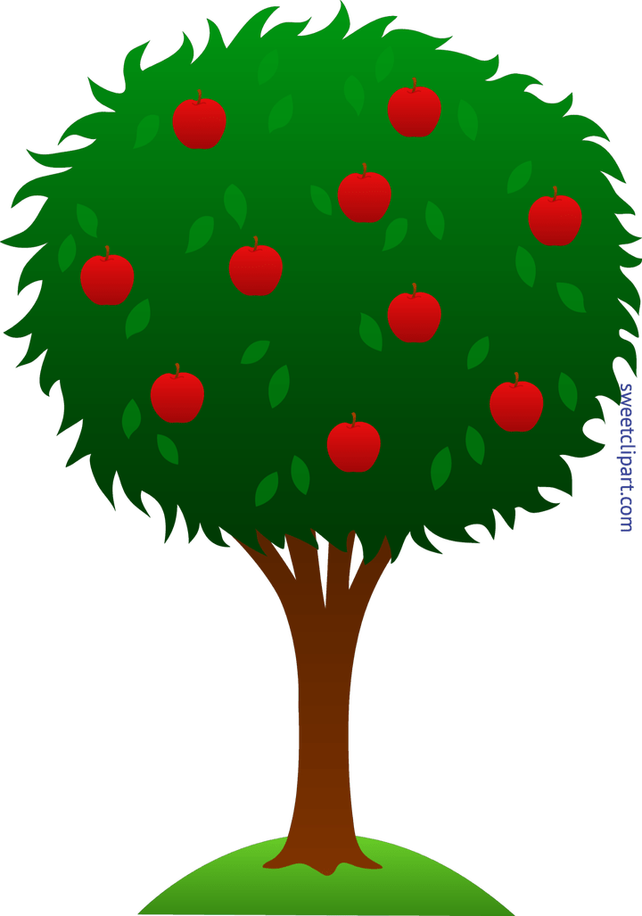 Apple tree root clipart image free library Image Cartoon Apple Tree | secondtofirst.com image free library