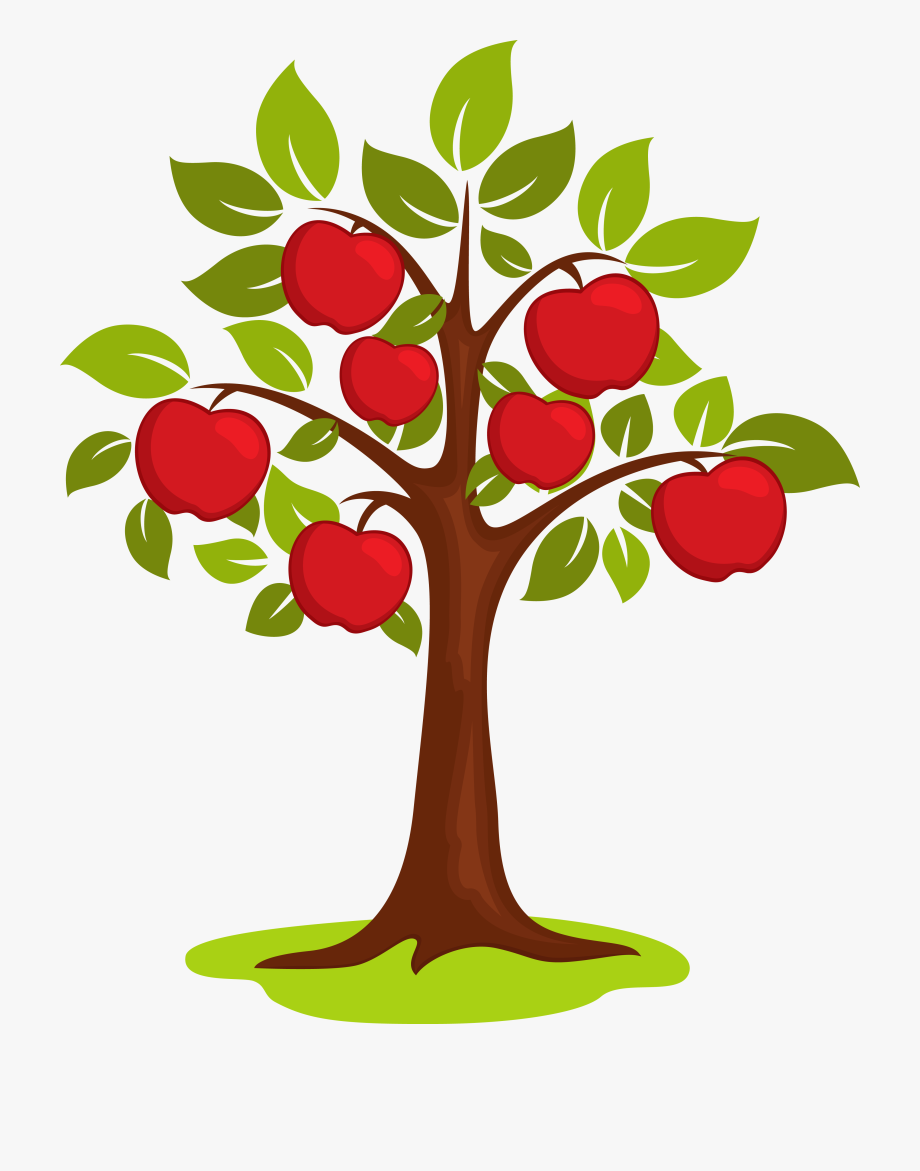 Apple tree sapling clipart picture royalty free stock Clip Art Vector Tree Transprent Png Free Ⓒ - Apple Tree Clipart Png ... picture royalty free stock
