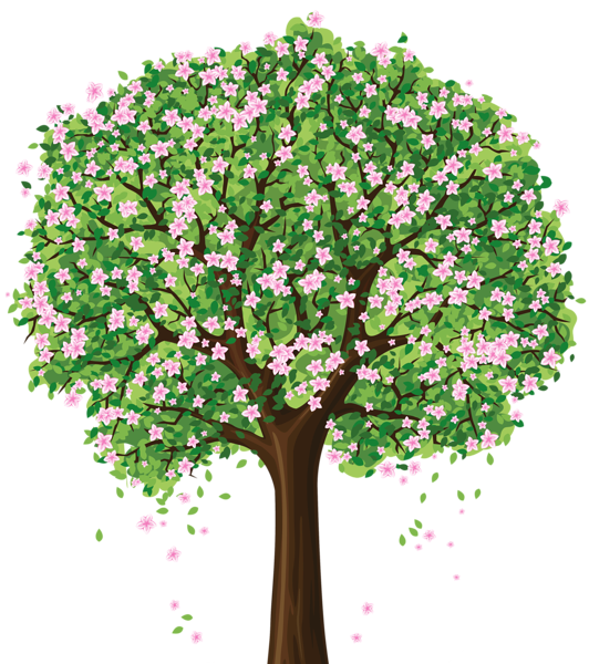 Clipart family tree maker image library library Spring Tree PNG Clipart | Crafting (Trees) | Pinterest | Spring tree ... image library library