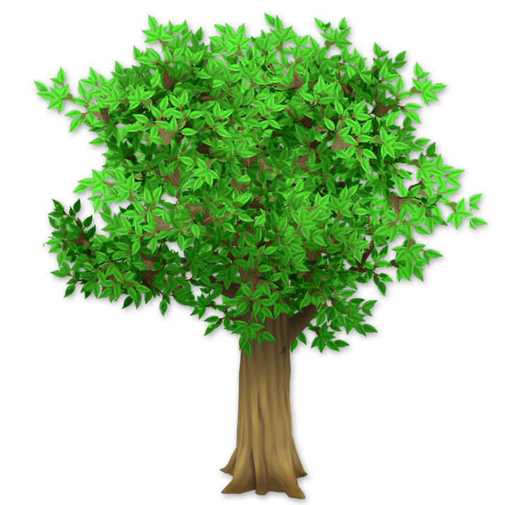 Apple tree with three apples clipart svg freeuse stock Trees and Bushes | Hay Day Wiki | FANDOM powered by Wikia svg freeuse stock