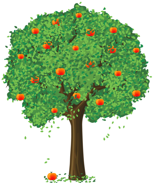 Pin by Mary Pereira on Trees | Apple tree, Tree clipart, Tree art clip art free library