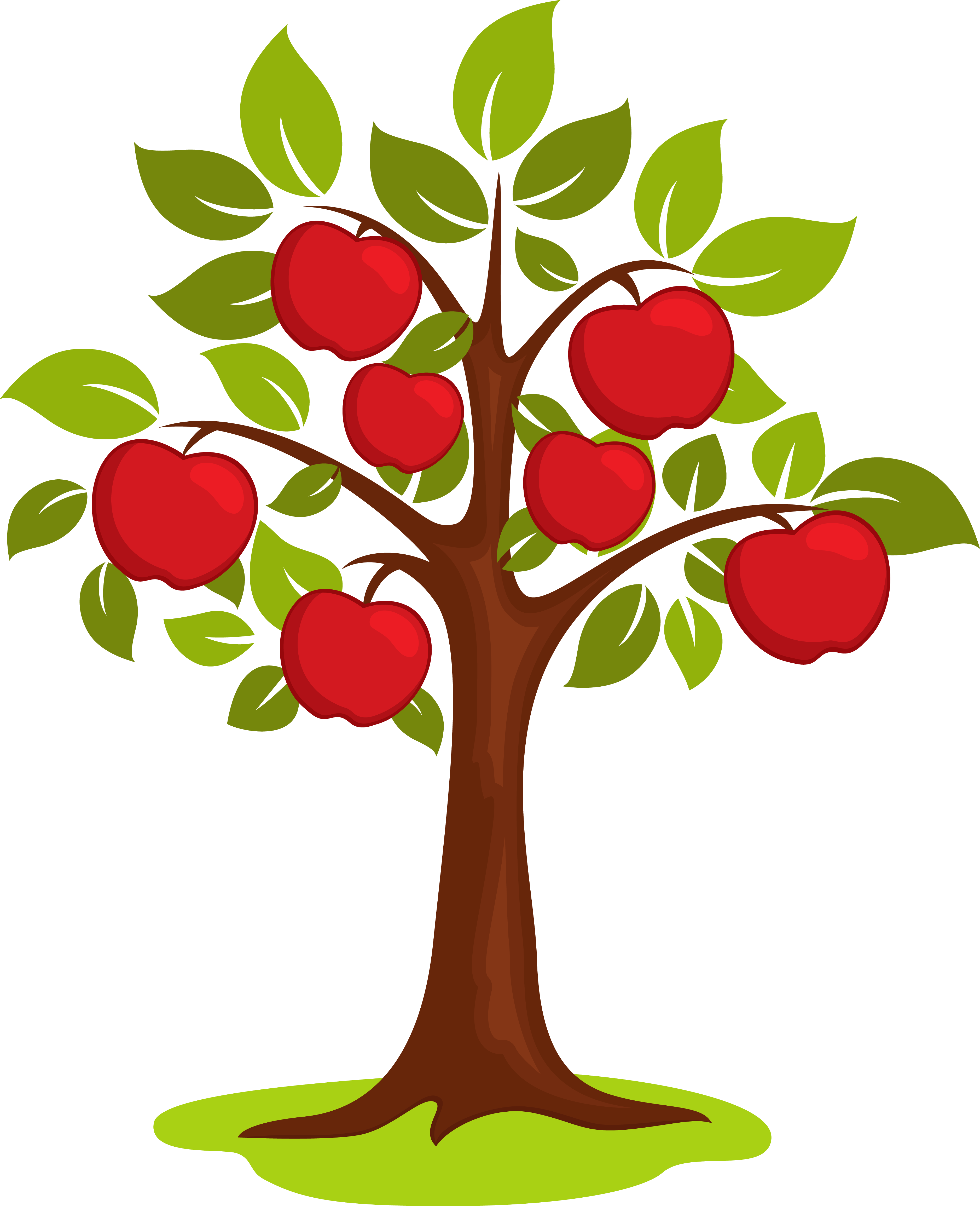 Apple trees with snow clipart png library download Apple Tree Png. Cartoon Clip Art Vector #70704 - PNG Images - PNGio png library download