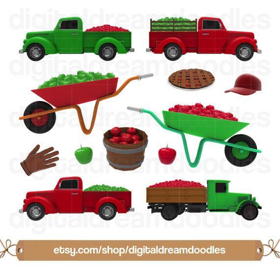 Apple truck clipart clip art royalty free Apple Clipart, Apple Clip Art, Orchard Clip Art, Apple Pie Image ... clip art royalty free