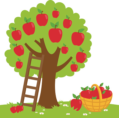 Apple truck clipart vector freeuse stock Free Apple Picking Cliparts, Download Free Clip Art, Free Clip Art ... vector freeuse stock