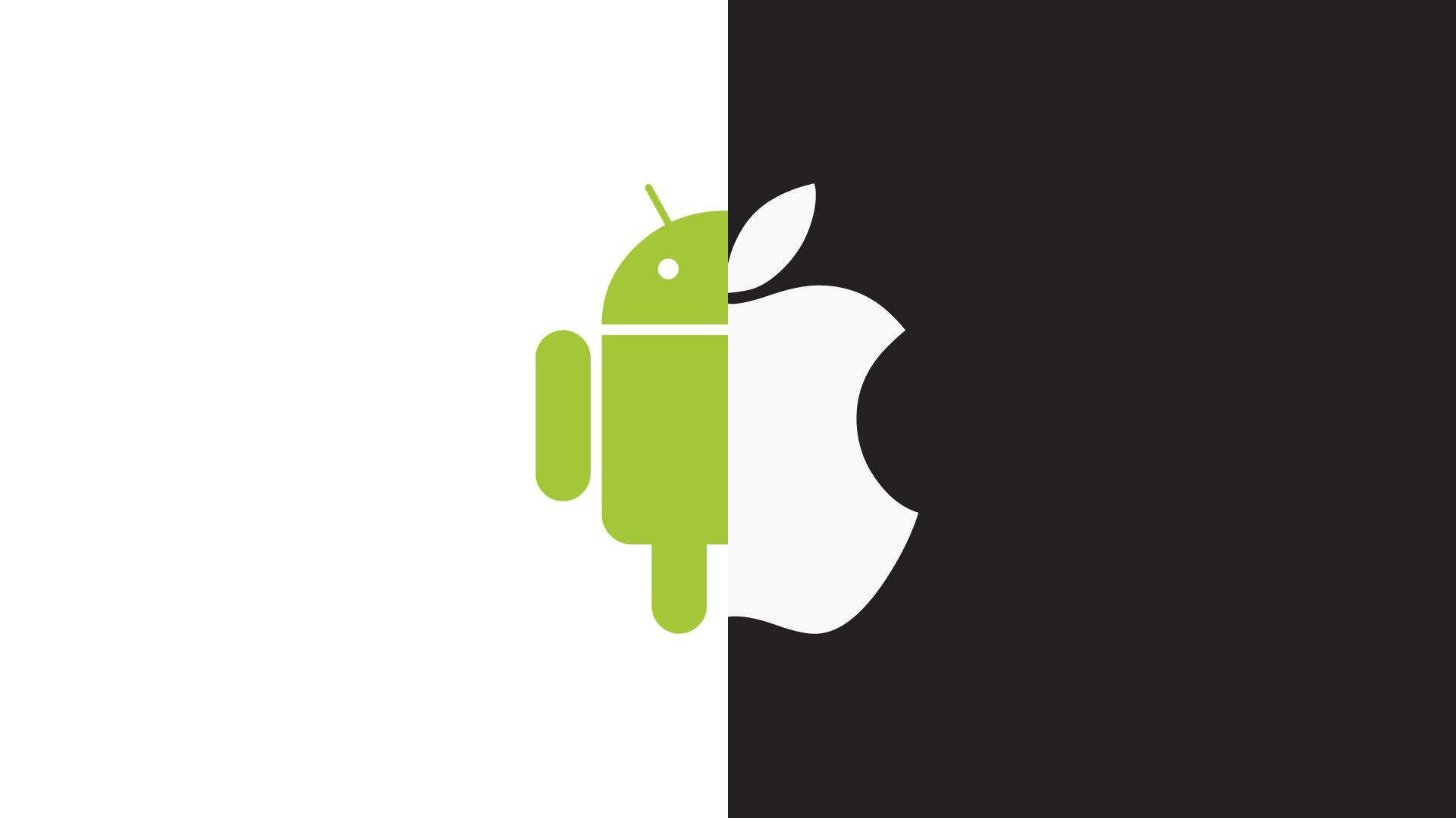 Apple vs android clipart clip free download World Versus - Android vs Apple iOS clip free download