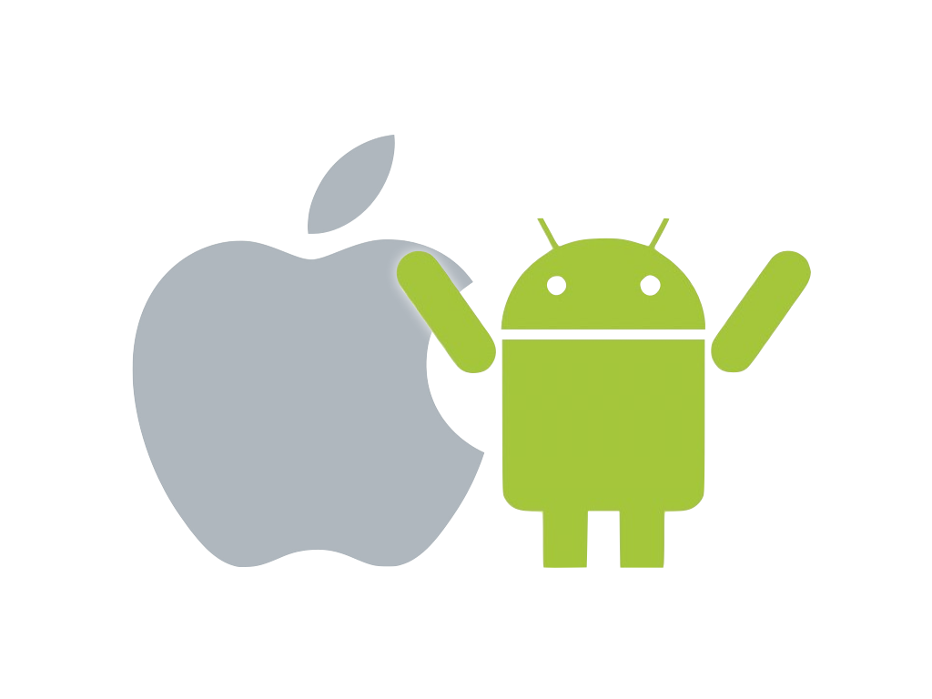 Apple vs android clipart svg stock 19 reasons why Android is better than iPhone/iOS | Gizmoids svg stock