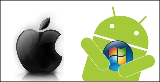 Apple vs android clipart clipart royalty free library Android vs apple clipart - ClipartFox clipart royalty free library