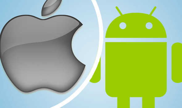 Apple vs android clipart banner black and white download Apple vs Android: the Which? Tech Daily debate banner black and white download