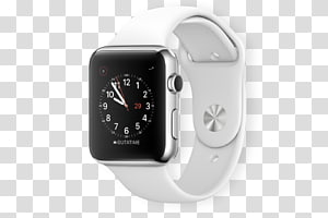 Apple watch 3 clipart black and white stock Watch Series 2 transparent background PNG cliparts free download ... black and white stock