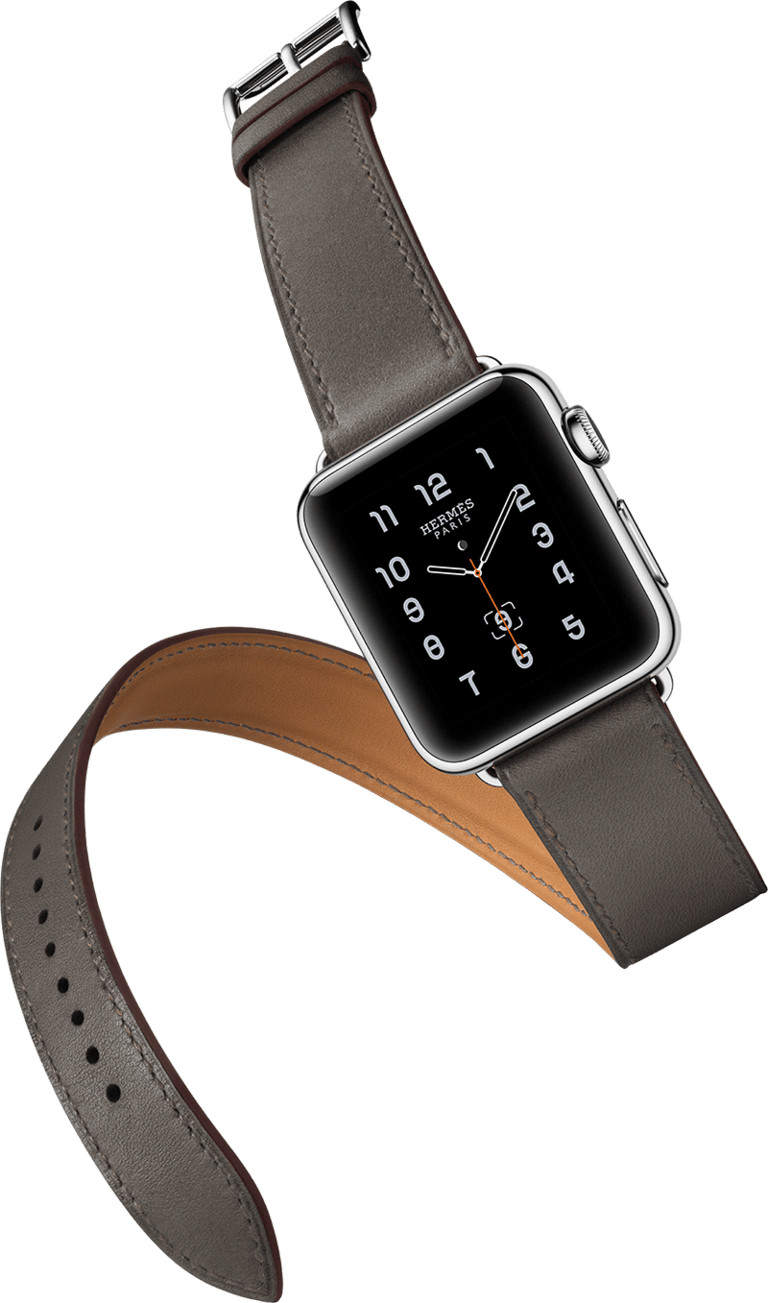 Apple watch clipart clip stock Hermes Apple Watch transparent PNG - StickPNG clip stock