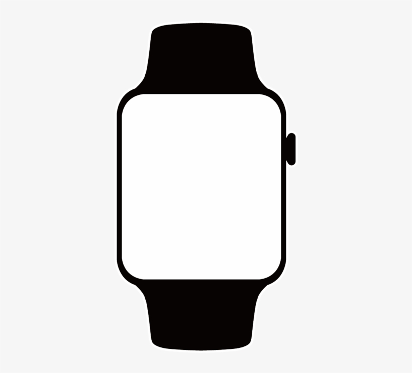 Apple watch clipart transparent background png black and white library Apple Watch Clipart Index Of Img Product Paberish Me - Apple Watch ... png black and white library