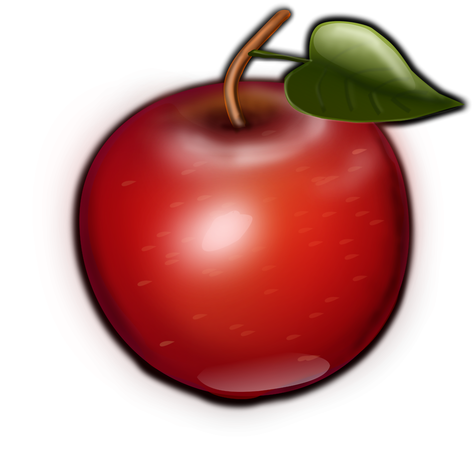 Apple with bite out clipart image free stock Apple | Free Stock Photo | Illustration of a red apple | # 16788 image free stock