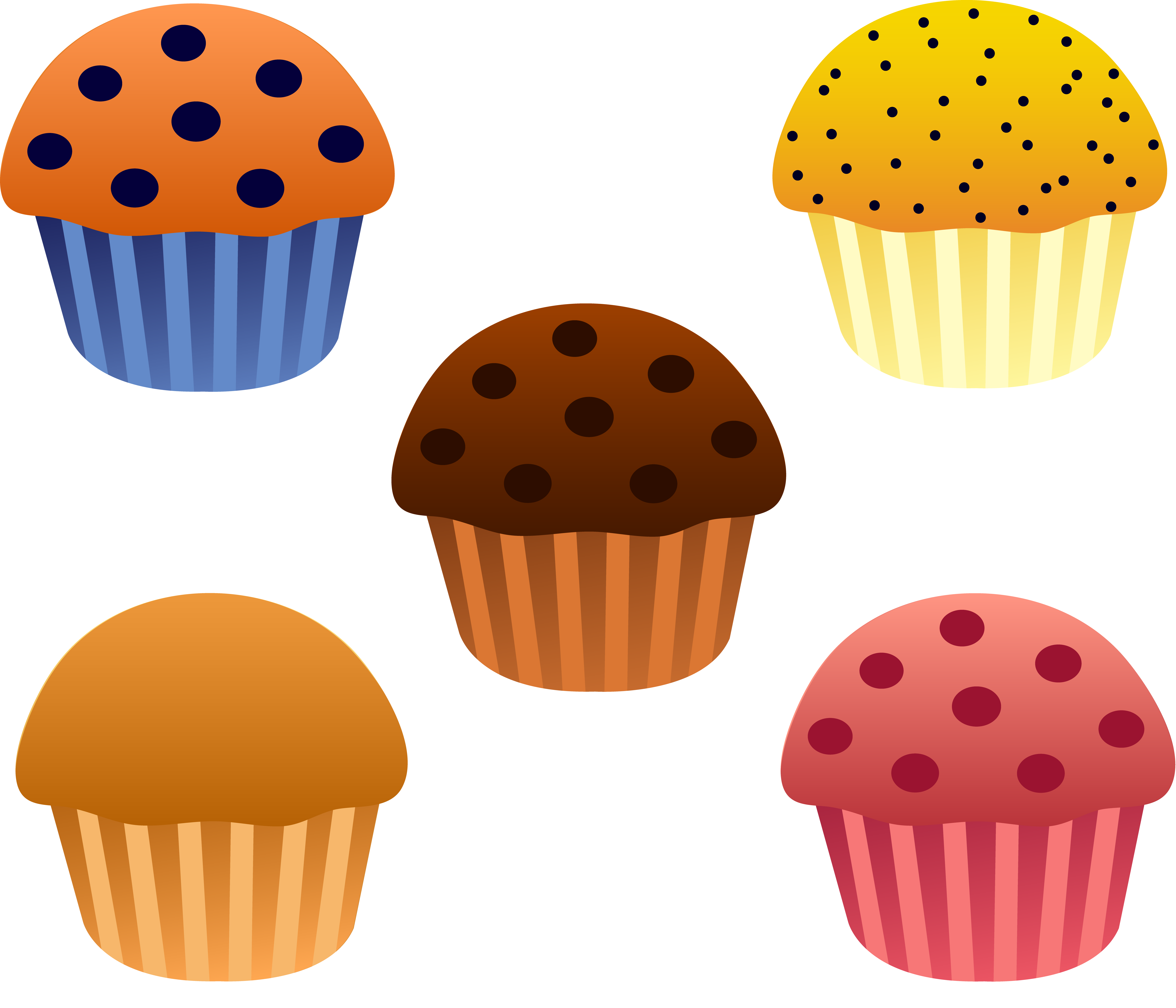 Apple with muffins clipart clip royalty free stock 28+ Collection of Cute Muffin Clipart | High quality, free cliparts ... clip royalty free stock