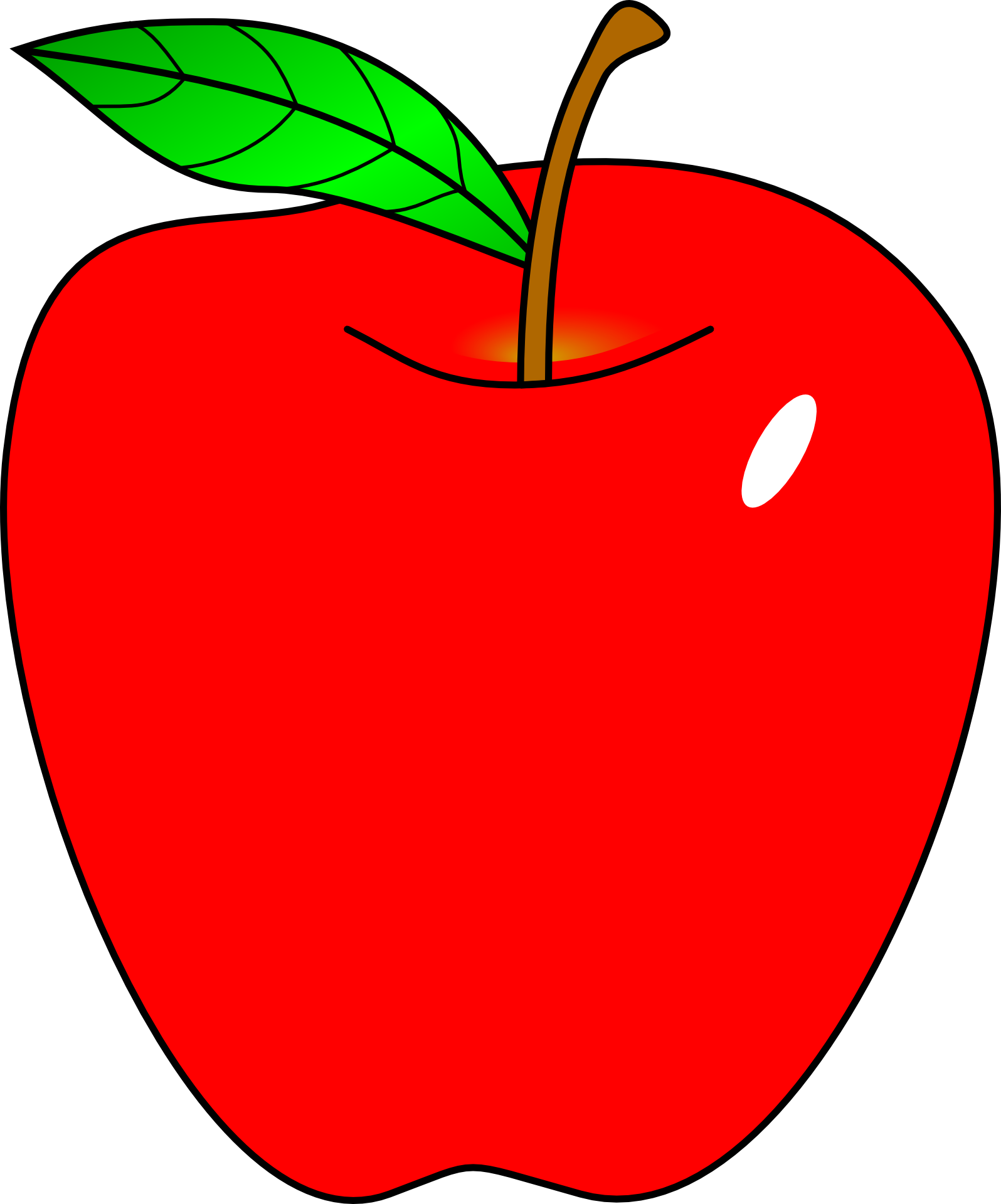Free clipart apple butter free Apple Free content Teacher Clip art - Cartoon Red Apple 1596*1920 ... free