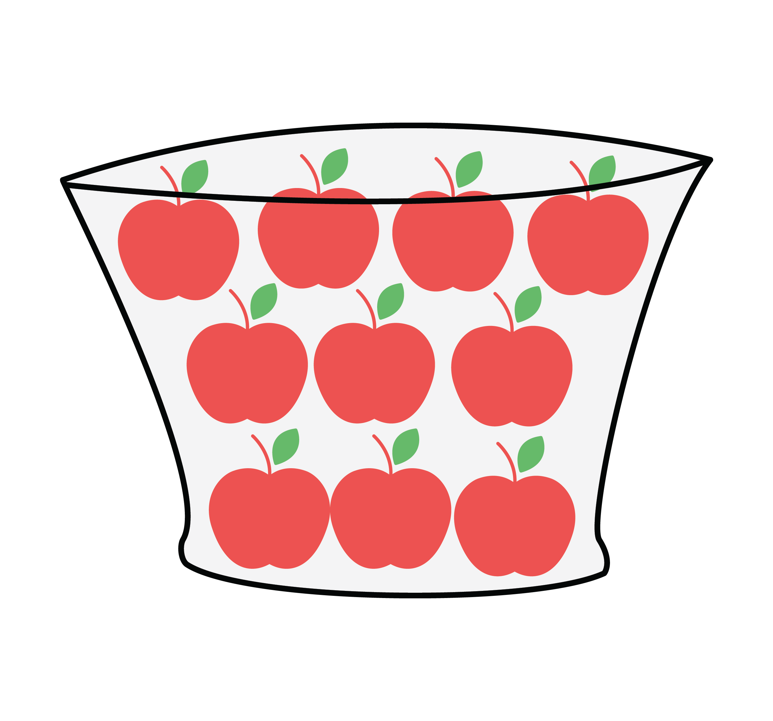Apple with shadow clipart svg library stock Solution to math learning Puzzle P1 - Cuemath svg library stock