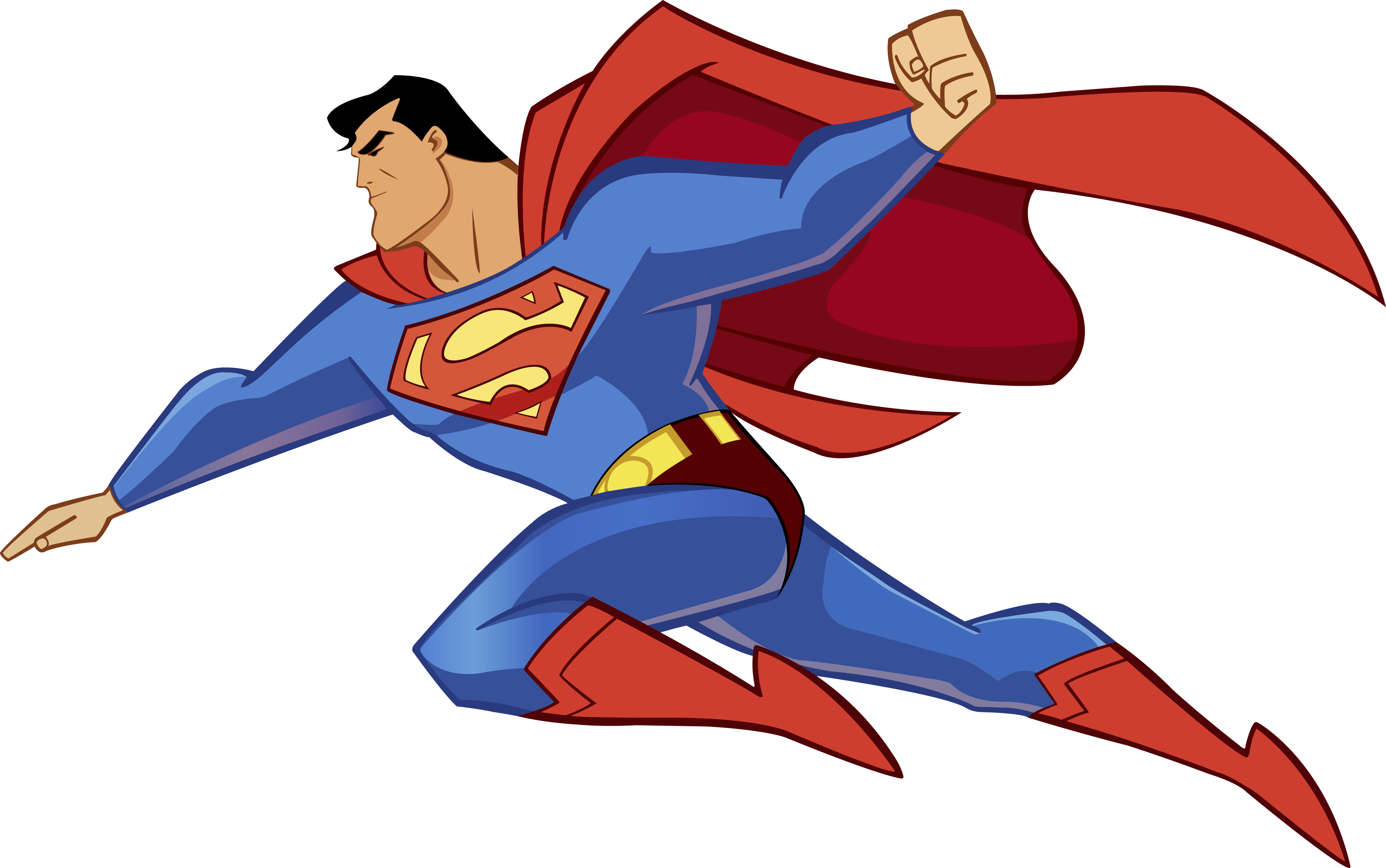 Apple with superman clipart picture transparent library Superman Icon Clipart | Web Icons PNG picture transparent library