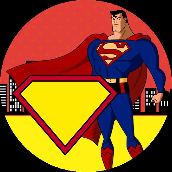 Apple with superman clipart banner freeuse Molduras para Convite Adesivo Multiuso Quadrado (5x5) … … | superher… banner freeuse