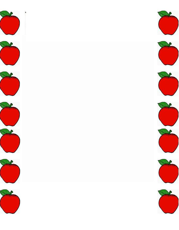 Apple with word apple clipart royalty free library Apple clipart borders - ClipartFest royalty free library