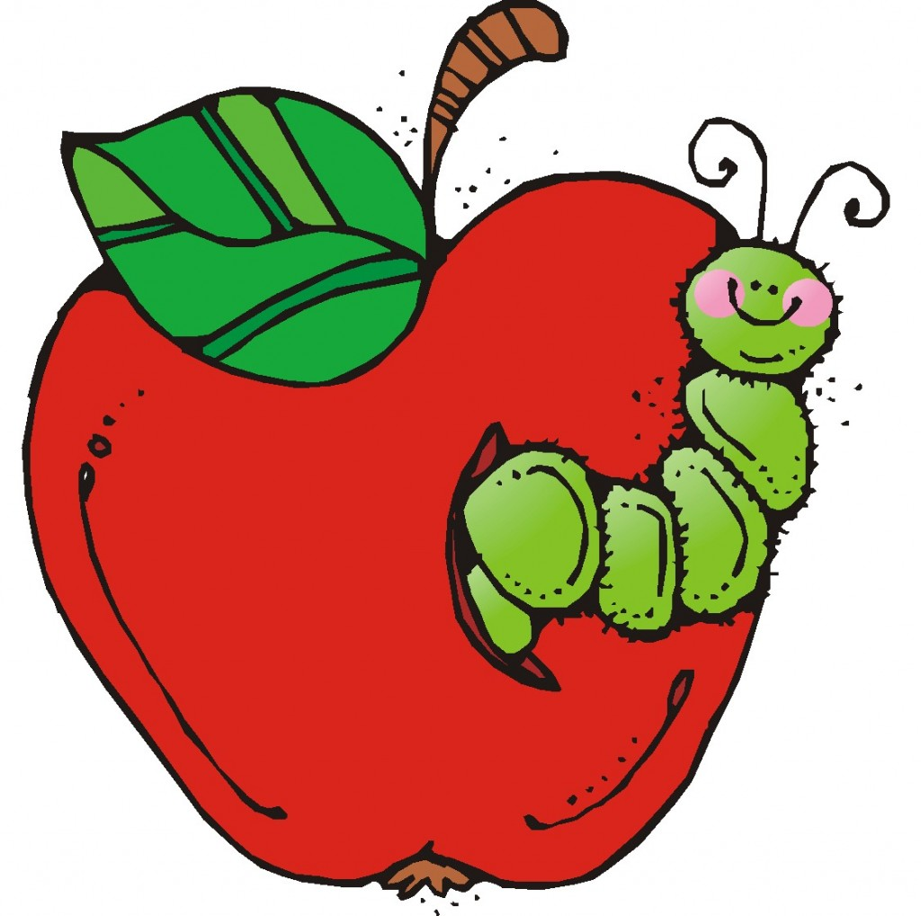 Apple with word apple clipart image transparent download Apple with word apple and worm clipart - ClipartFest image transparent download