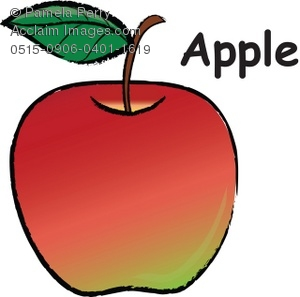 Apple with word apple clipart vector transparent download Word apple clipart - ClipartFest vector transparent download